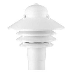 Progress Lighting - Progress Lighting P5444-30 Newport 1 Light Outdoor Post Light In White - Progress Lighting P5444-30 Newport 1 Light Outdoor Post Light In White