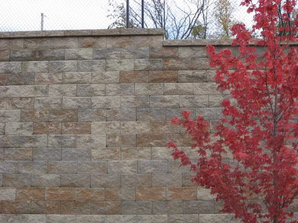 Traditional Landscaping Stones And Pavers by Midwest Block & Brick