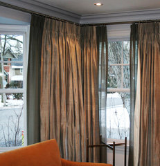 curtains by The Sewing Shop