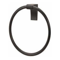 Alno Inc. - Alno Luna Towel Ring in Bronze - Alno Luna Towel Ring in Bronze
