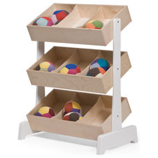 modern toy storage by Oeuf