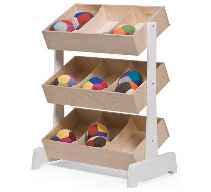 Modern Toy Storage by Oeuf