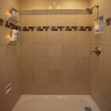 Traditional Bath And Spa Accessories by Bathroom Tile Shower Shelves