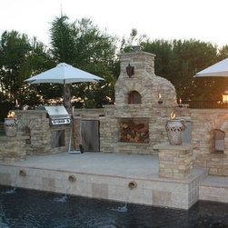 Wood Fired Oven by Pool - Morrone