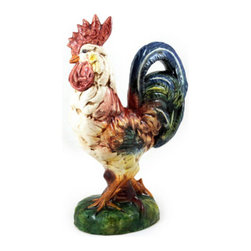 Artistica - Hand Made in Italy - Rooster of Fortune: Mariolino Rooster Multicolor - Rooster of Fortune: