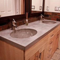 Modern Bathroom Sinks by Concrete Cat Inc.