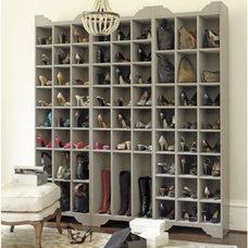 Contemporary Shoe Storage by Ballard Designs