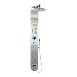 Serene Shower Steam System - Serene Steam Shower Blue Orchid model Complete Unit