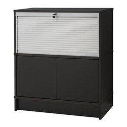 IKEA of Sweden - EFFEKTIV Storage combination - Storage combination, black-brown