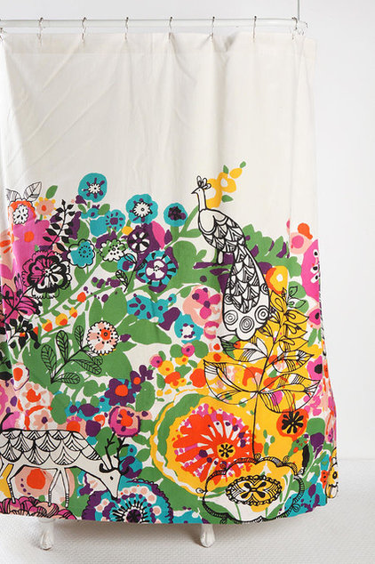 Eclectic Shower Curtains by Urban Outfitters