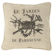 Transitional Decorative Pillows by Kathy Kuo Home