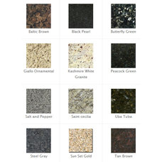 Traditional Kitchen Countertops by East Coast Granite