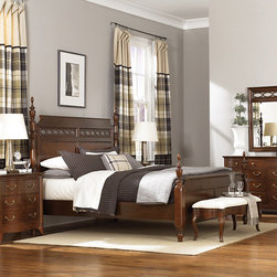 Bedroom | Smart Furniture - The Cherry Grove collection is perfect for the classic American Home. Shop the whole collection at SmartFurniture.com