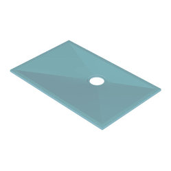 "Tuff-Form 21028 Shower Base 55-1/8"" x 35-1/2"""
