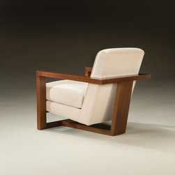 Thayer Coggin - Roger Lounge Chair (back view) from Thayer Coggin - Thayer Coggin Inc.