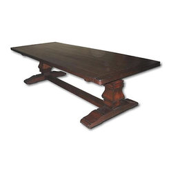 EuroLux Home - New 8-Foot Table Tuscan Harvest BG-137 - Product Details