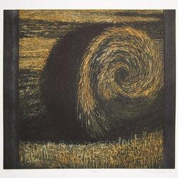 Richard Ballard, Bale, Aquatint Etching - Artist:  Richard Ballard