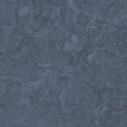 Faux Texture in Navy Blue - LL29557 - Collection:Illusions
