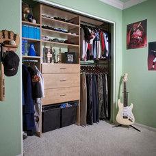 Modern Closet Organizers by Organizers Direct