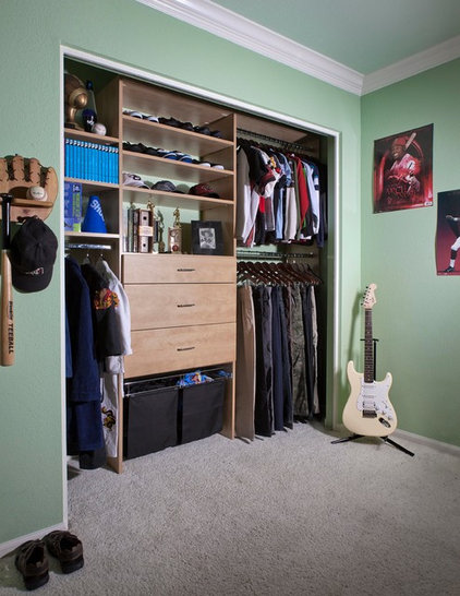 Modern Closet Organizers by Organizers Direct
