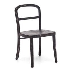 Zuo Modern - Zuo Fillmore Chair in Black [Set of 2] - Fillmore Chair in Black by Zuo Modern Simple and refined, the Filmore chair's carved, solid elm frame and smooth seat will not overpower any setting. Comes in natural, antique white, and antique black finishes. Chair (2)