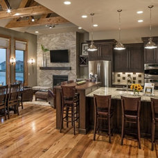 Transitional Kitchen by Core Concepts Cabinets & Design