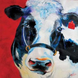 WL - Barnyard Farm Theme Wall Art Painting with Black and White Cow Design - This gorgeous Barnyard Farm Theme Wall Art Painting with Black and White Cow Design has the finest details and highest quality you will find anywhere! Barnyard Farm Theme Wall Art Painting with Black and White Cow Design is truly remarkable.