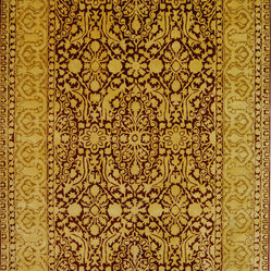 Silk Road Traditional Hand Tufted Rug