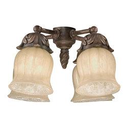 Savoy House Lighting - Savoy House FLGC-705-AG Gossamer 4 Light Fan Light Kits, Autumn Gold - Light Kit for The Gossamer Fan