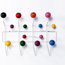 Ways to Hang Coat Rack - Made from a framework of coated steel wire with lacquered maple wood balls, this modern take on a classic hat rack gives you enough knobs and nodules for all your accessories. Appealing to the eye with its use of angles and shapes.