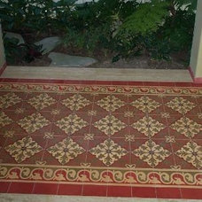 Traditional Landscape by Avente Tile