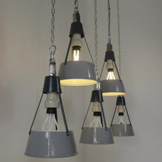 Eclectic Pendant Lighting by trainspotters.co.uk
