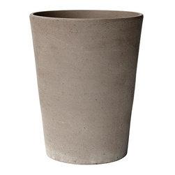 MANDEL Plant pot - Plant pot, gray-brown