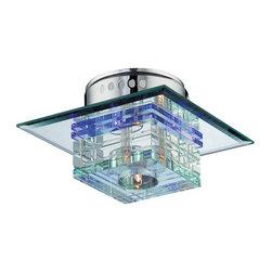 Lite Source - Lite Source LS-5613 Quotom 4 Light Flush Mount Ceiling Fixture - Features: