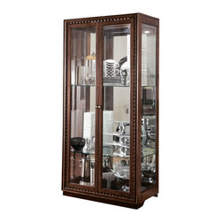 American Drew - American Drew Miramar Display Cabinet in Auburn on Primavera - Display Cabinet in Auburn on Prima Vera belongs to Miramar collection by American Drew
