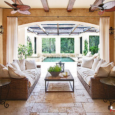 Tropical Patio Architectural Photo Portfolio