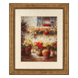 Paragon - Morning Glow - Framed Art - Each product is custom made upon order so there might be small variations from the picture displayed. No two pieces are exactly alike.