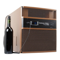 WhisperKOOL - WhisperKOOL Extreme 5000ti Cooling Unit - Don't sweat your cellar! This cooling unit offers the most advanced temperature control that's nearly noiseless too. Now you can enjoy your wine — and your peace and quiet.