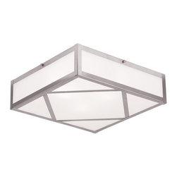 Livex Lighting - Livex Lighting 7134 Viper 4 Light Flush Mount Ceiling Fixture - Specifications: