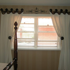 Traditional Curtains by Domestics, Etc. Design Studio