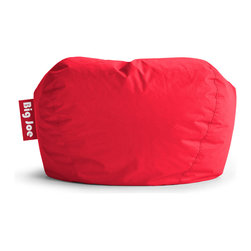 "Comfort Research - Big Joe Flaming Red 98"" Bean Bag in SmartMax - The Big Joe 98"" is our Classic Bean Bag re-imagined. We took everything you know, love and trust about the bean bag you grew up with and then brought it up to speed with vibrant colors, durable SmartMax Fabric and our hyper conformable UltimaX Beans. This chair is built for lounging and that's just what you'll do."