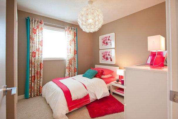 Transitional Bedroom by Natalie Fuglestveit Interior Design
