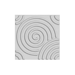 Circle Design 3D Glue On Wall Panel - Box of 10 (26.67sqft) - Circle Pattern 3D Wall Panel. Box of 10. Paintable Material and Texture. Made of Eco-Friendly Plant Fibers.