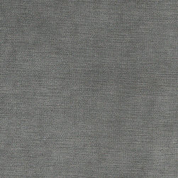Blue-Grey Luxurious Microfiber Velvet Upholstery Fabric By The Yard - This luxurious velvet upholstery fabric is the real deal. This velvet can be used for all indoor upholstery needs, and will look incredible on any piece of furniture. It is also sure to last!