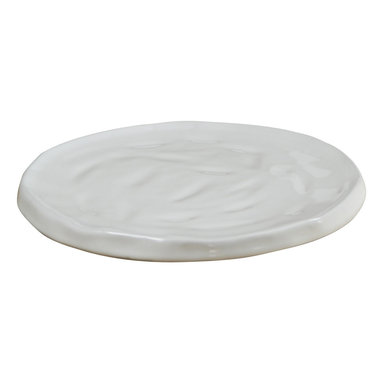 Montes Doggett - Handmade Charger - Nothing beats the elegance of setting a table with chargers under each plate. It adds an extra layer of texture and interest to the setting. You can't go wrong with this handmade ceramic charger that is easy enough to clean in the dishwasher.