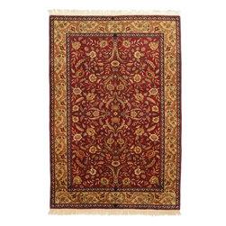 eSaleRugs - 6' 7 x 9' 10 Jaipur Agra Rug - SKU: 22155596 - Hand Knotted Jaipur Agra rug. Made of 100% Hand Spun Wool. Brand New.