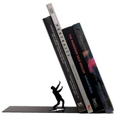 Contemporary Bookends by Mental Floss Store