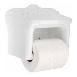 Renovators Supply - Toilet Paper Holder White Ceramic Toilet Tissue Holder - Ceramic bath accessories give bathrooms vintage style and substance. Easy to clean, long lasting, and stylish.