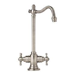 Waterstone - Waterstone Bar Faucet - Cross Handles - 1350-WB - Bar Faucet - Cross Handles