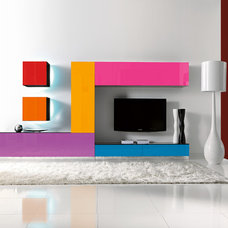 Contemporary Wall Shelves by IQmatics